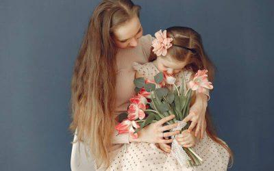 Csilla és kislánya története